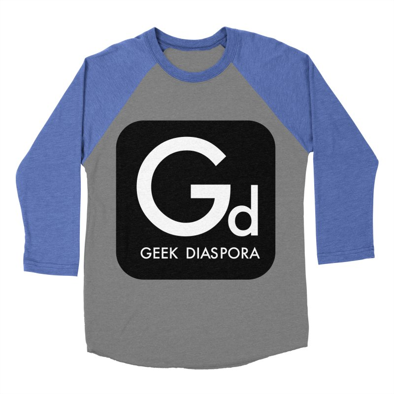 Geek Diaspora Women's Baseball Triblend Longsleeve T-Shirt by afrogeek's Artist Shop