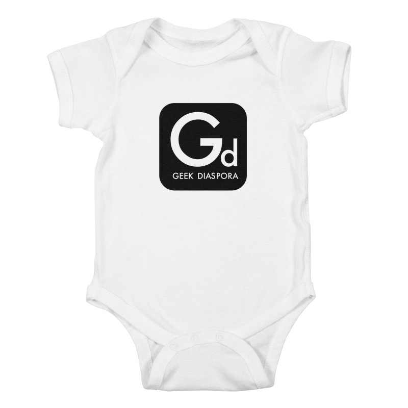 Geek Diaspora Kids Baby Bodysuit by afrogeek's Artist Shop