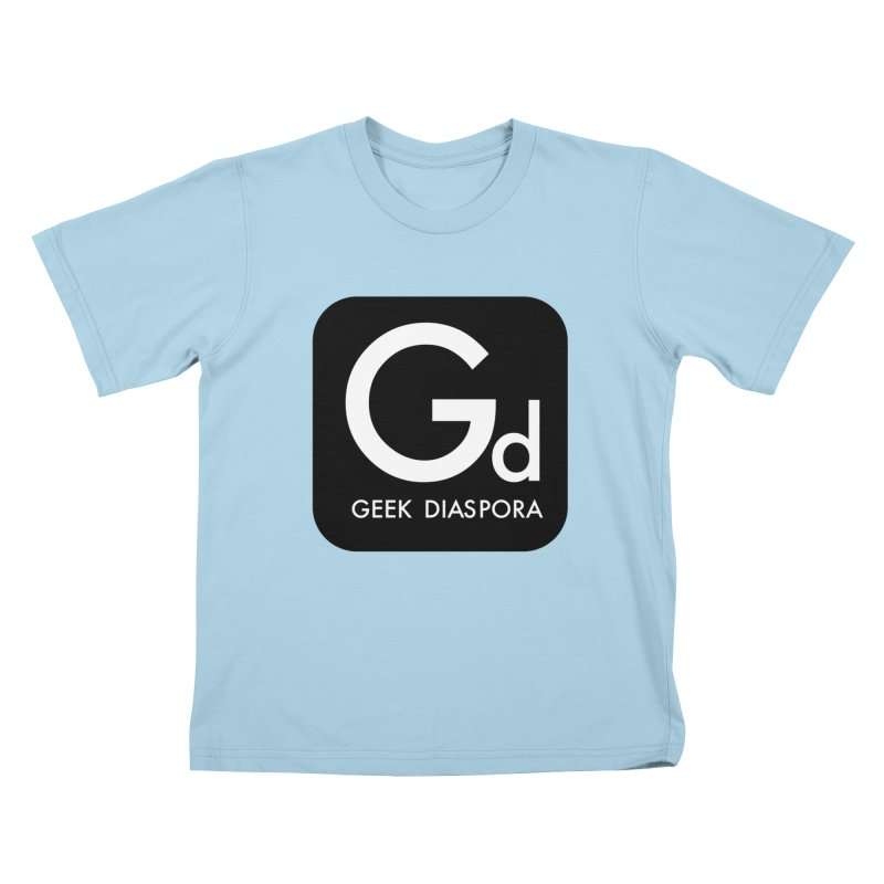 Geek Diaspora Kids T-Shirt by afrogeek's Artist Shop