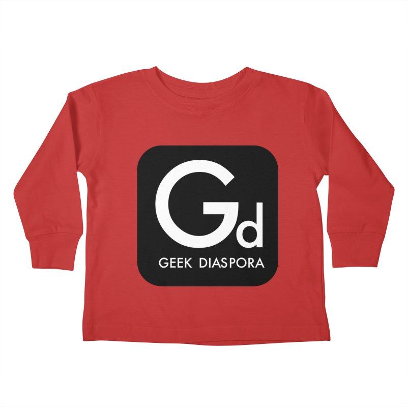 Geek Diaspora Kids Toddler Longsleeve T-Shirt by afrogeek's Artist Shop