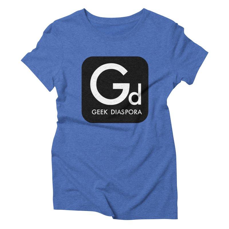 Geek Diaspora Women's Triblend T-shirt by afrogeek's Artist Shop
