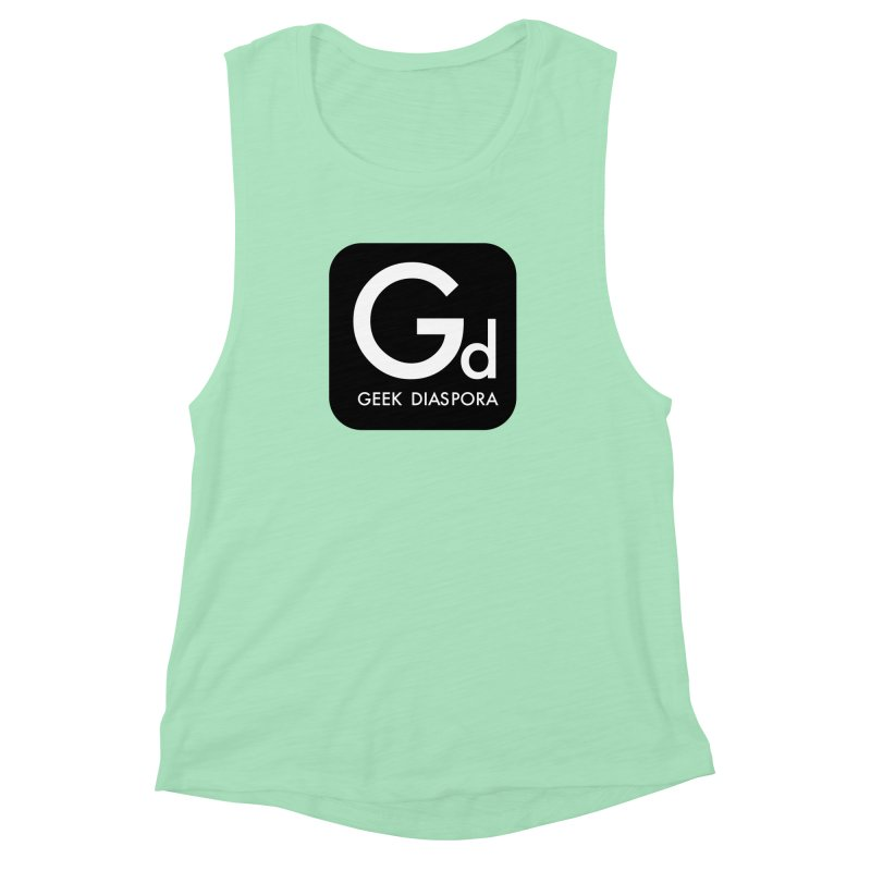Geek Diaspora Women's Muscle Tank by afrogeek's Artist Shop