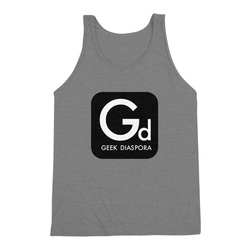 Geek Diaspora Men's Triblend Tank by afrogeek's Artist Shop