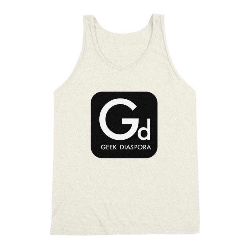 Geek Diaspora Men's Triblend Tank by afrogeek's Artist Shop