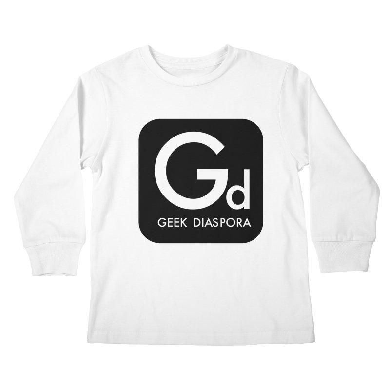 Geek Diaspora Kids Longsleeve T-Shirt by afrogeek's Artist Shop