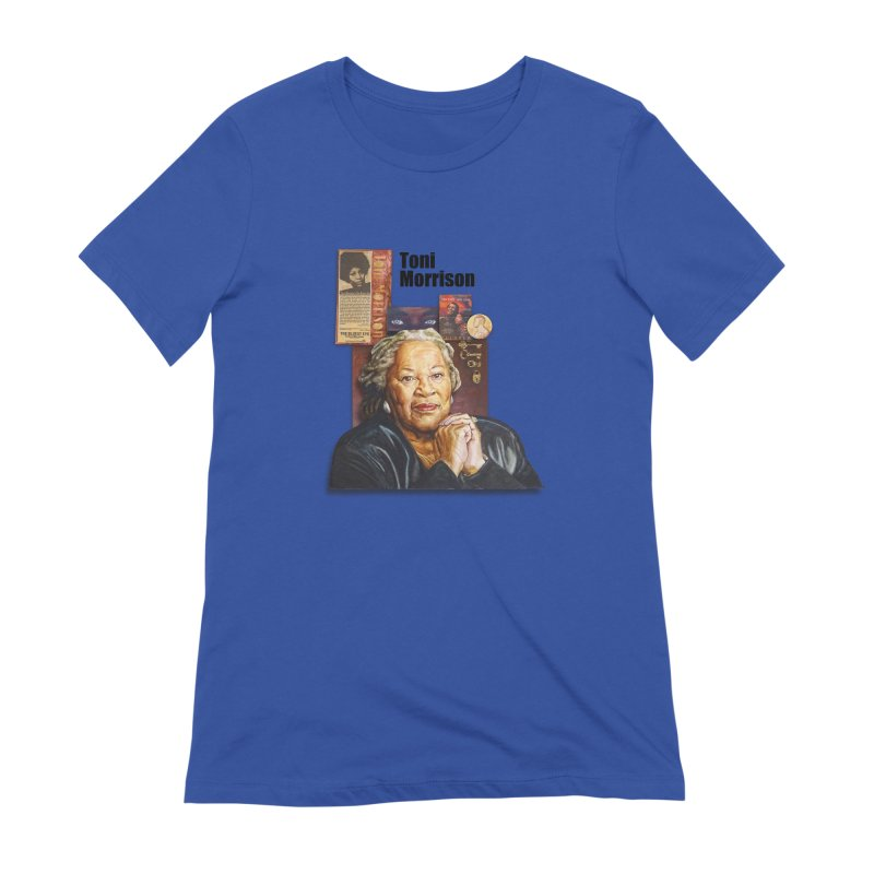 Toni Morrison Women's Extra Soft T-Shirt by Afro Triangle's