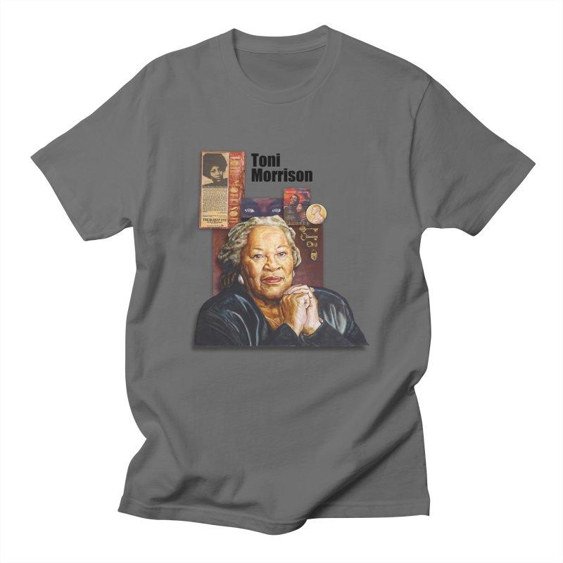 Toni Morrison Men's T-Shirt by Afro Triangle's