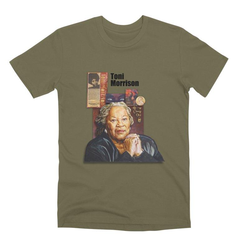 Toni Morrison Men's Premium T-Shirt by Afro Triangle's