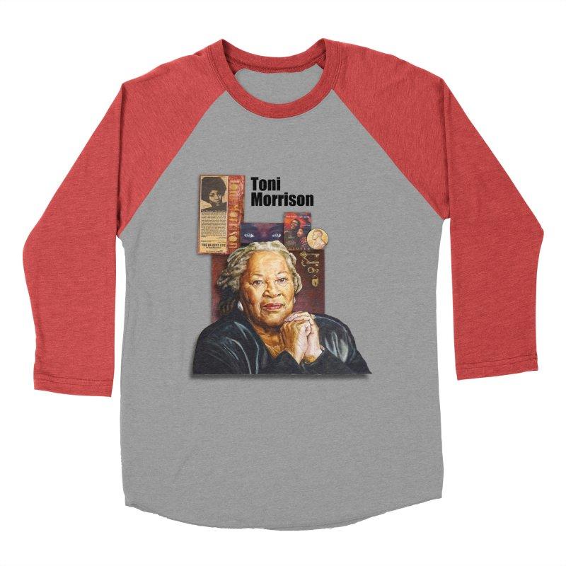 Toni Morrison Men's Longsleeve T-Shirt by Afro Triangle's