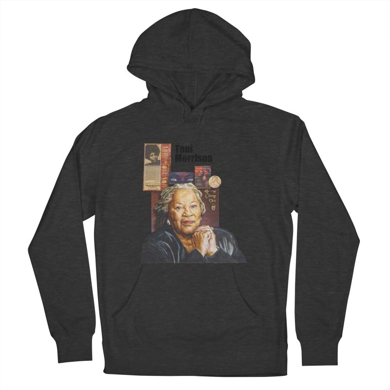 Toni Morrison Women's French Terry Pullover Hoody by Afro Triangle's