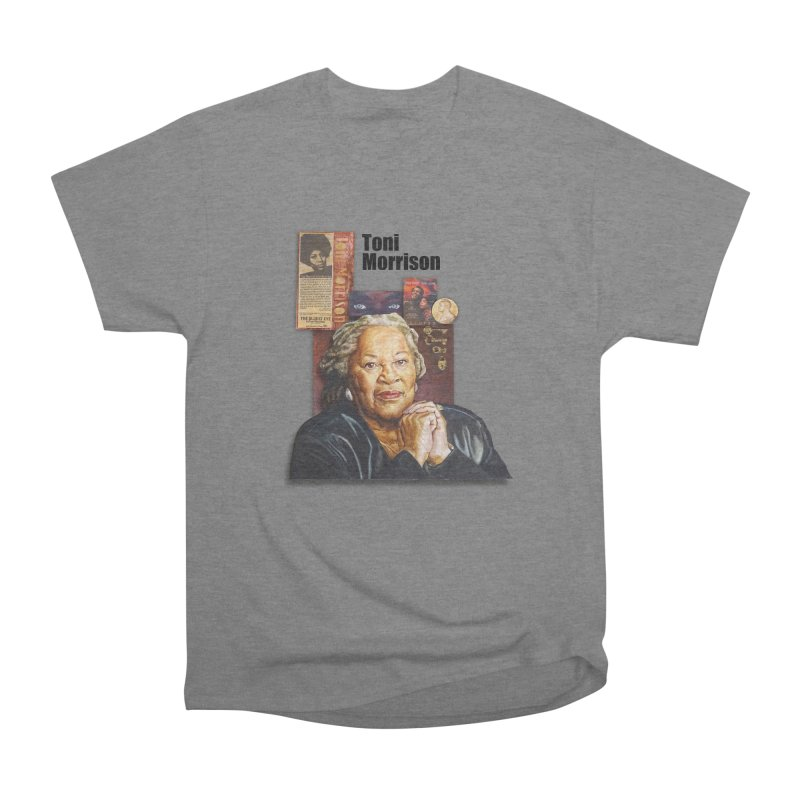 Toni Morrison Women's Heavyweight Unisex T-Shirt by Afro Triangle's