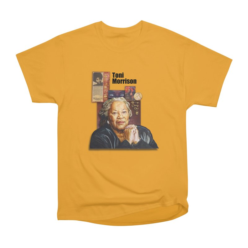 Toni Morrison Men's Heavyweight T-Shirt by Afro Triangle's