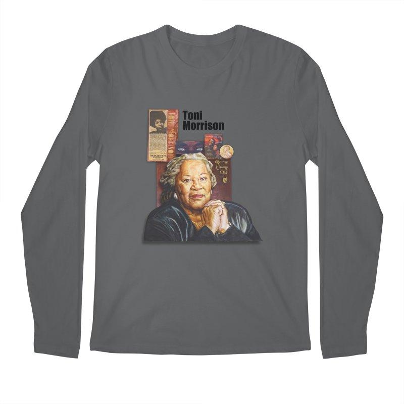 Toni Morrison Men's Regular Longsleeve T-Shirt by Afro Triangle's