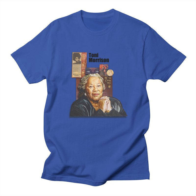 Toni Morrison Women's Regular Unisex T-Shirt by Afro Triangle's