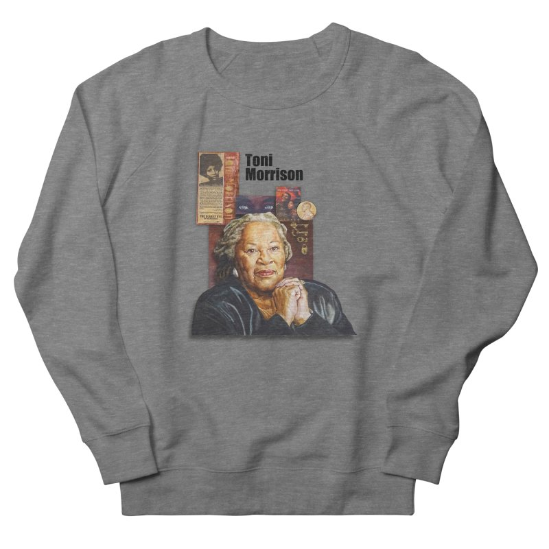Toni Morrison Women's French Terry Sweatshirt by Afro Triangle's