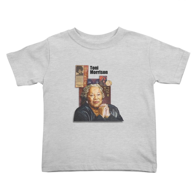 Toni Morrison Kids Toddler T-Shirt by Afro Triangle's