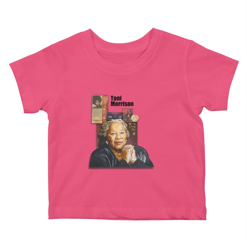 Toni Morrison Kids Baby T-Shirt by Afro Triangle's