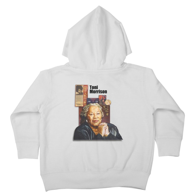 Toni Morrison Kids Toddler Zip-Up Hoody by Afro Triangle's
