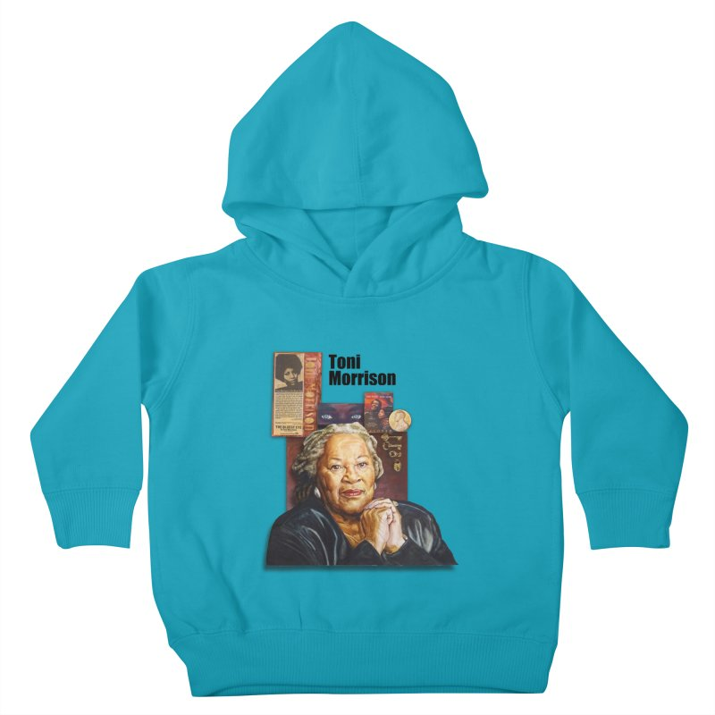 Toni Morrison Kids Toddler Pullover Hoody by Afro Triangle's