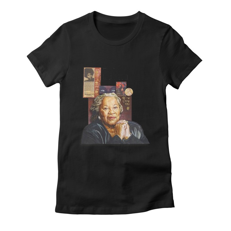 Toni Morrison Women's Fitted T-Shirt by Afro Triangle's
