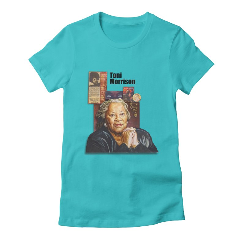 Toni Morrison Women's T-Shirt by Afro Triangle's