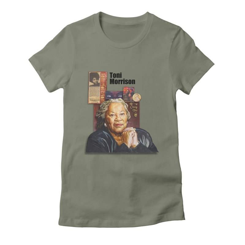 Toni Morrison Women's T-Shirt by Afro Triangle's