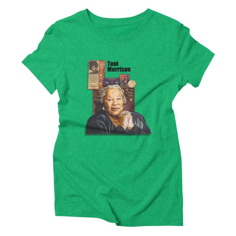 Toni Morrison Women's Triblend T-Shirt by Afro Triangle's