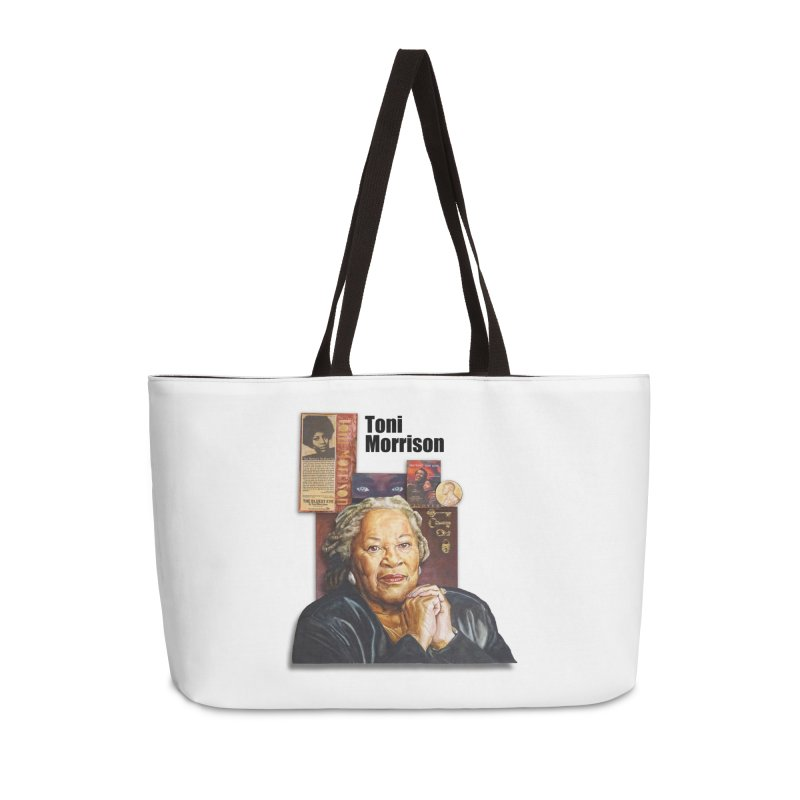 Toni Morrison Accessories Weekender Bag Bag by Afro Triangle's