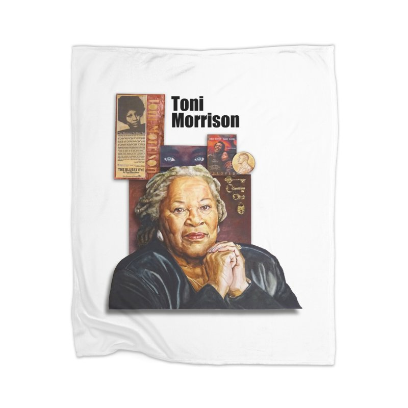 Toni Morrison Home Blanket by Afro Triangle's