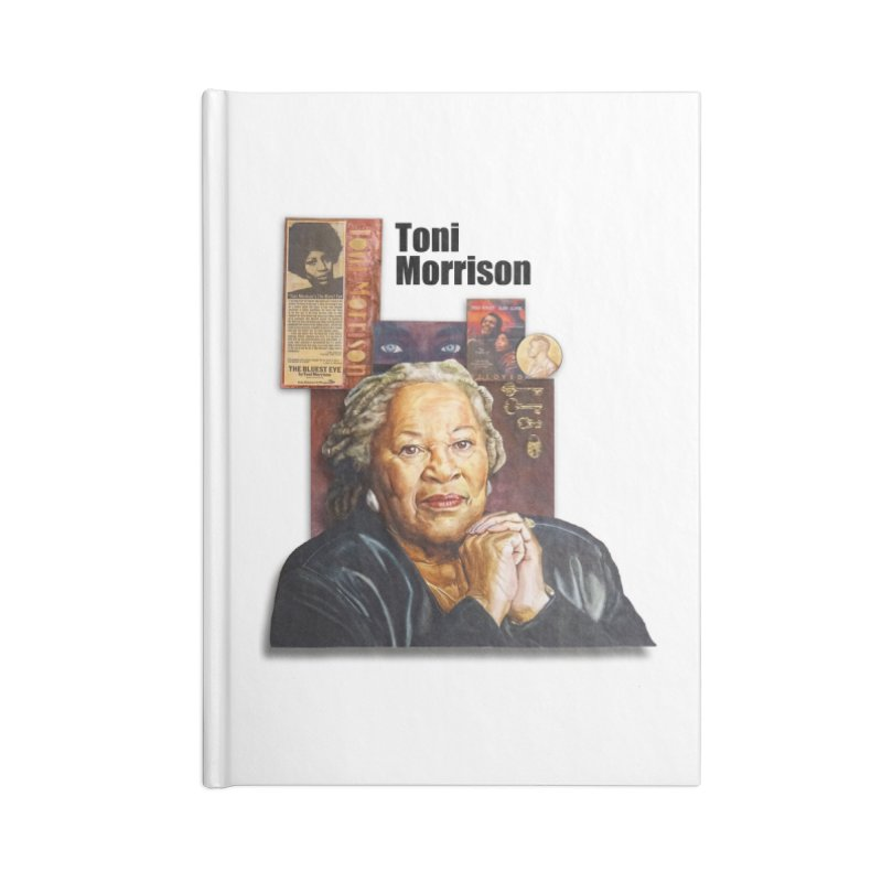 Toni Morrison Accessories Blank Journal Notebook by Afro Triangle's