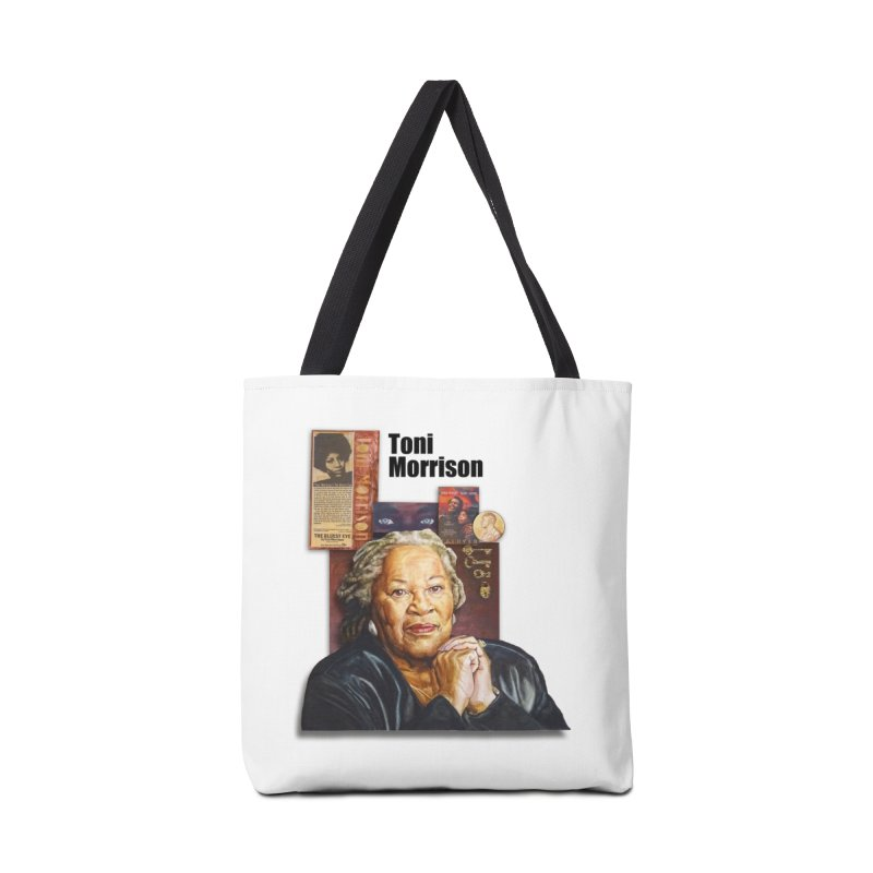 Toni Morrison Accessories Tote Bag Bag by Afro Triangle's