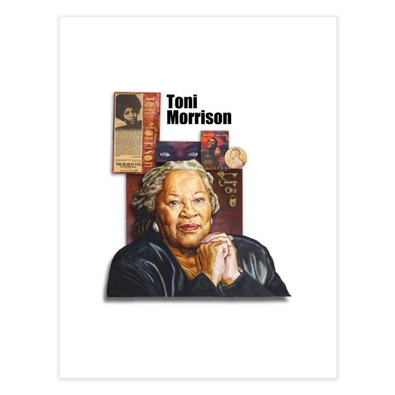 Toni Morrison Home Fine Art Print by Afro Triangle's