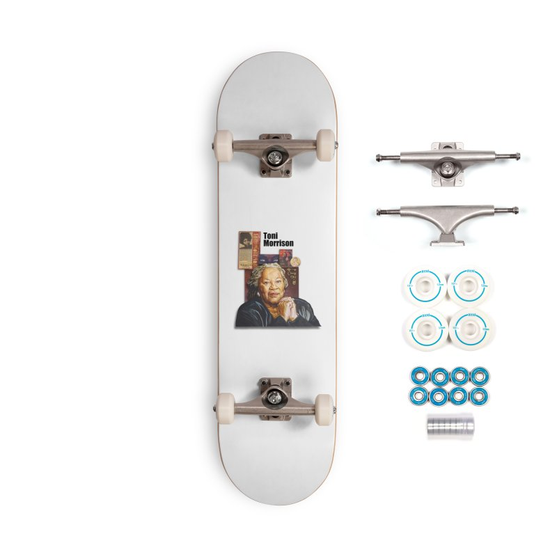 Toni Morrison Accessories Complete - Basic Skateboard by Afro Triangle's
