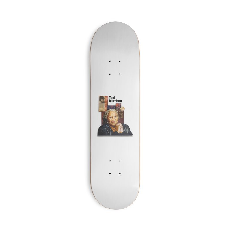 Toni Morrison Accessories Deck Only Skateboard by Afro Triangle's