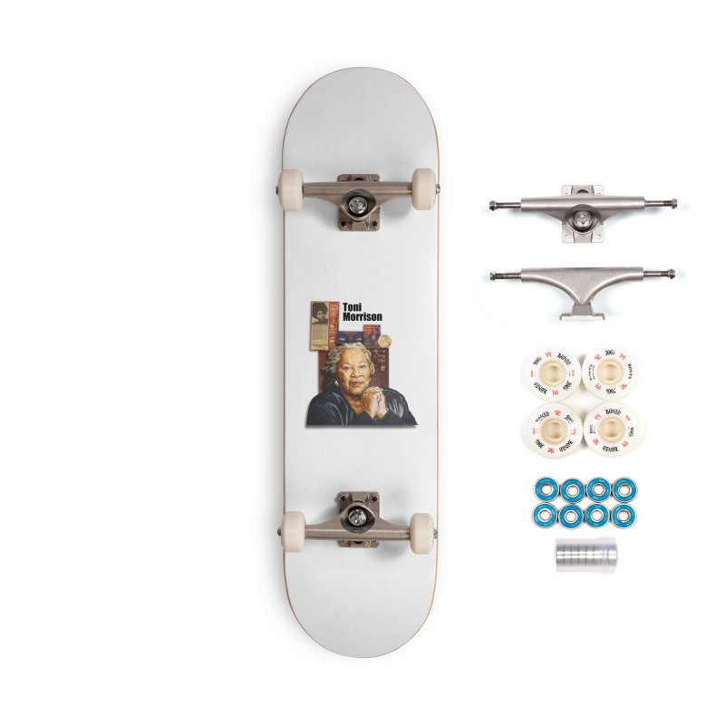Toni Morrison Accessories Skateboard by Afro Triangle's