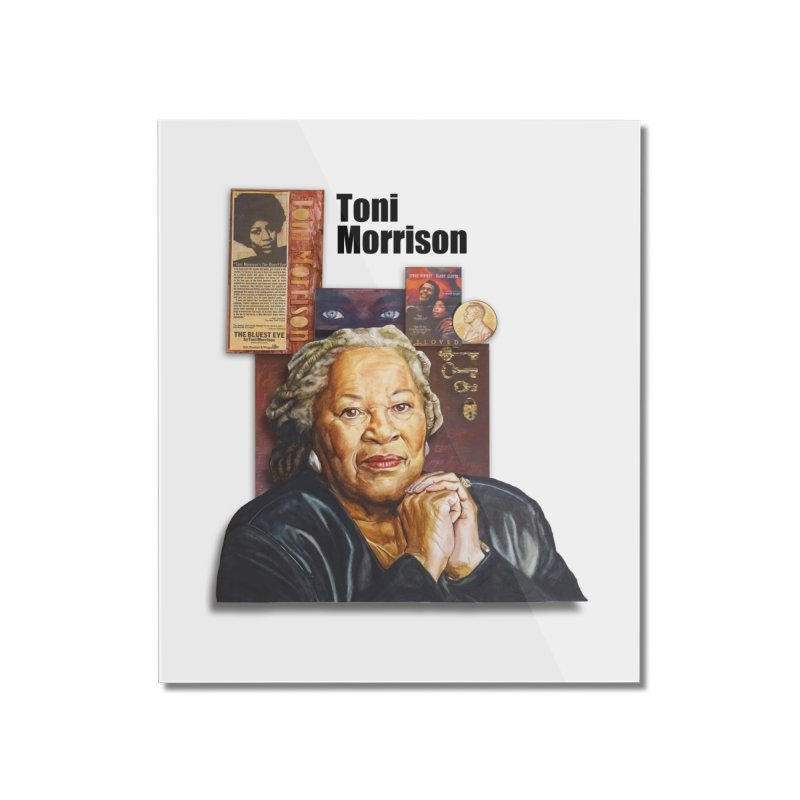Toni Morrison Home Mounted Acrylic Print by Afro Triangle's