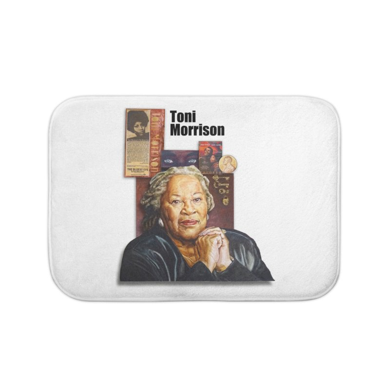 Toni Morrison Home Bath Mat by Afro Triangle's