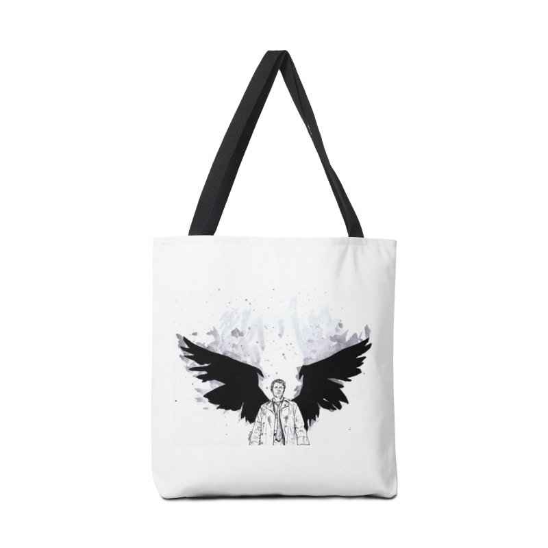 Castiel Wings Accessories Bag by Afro Triangle's