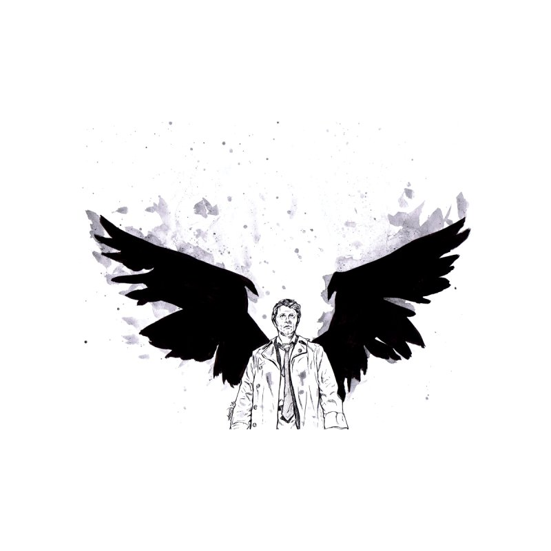 Castiel Wings Home Rug by Afro Triangle's
