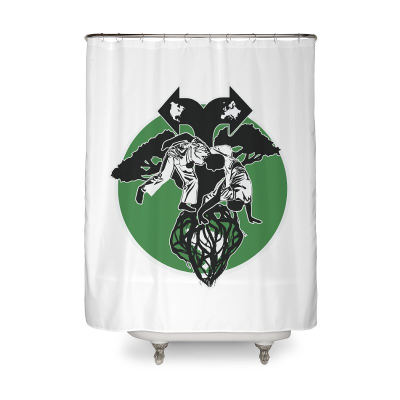 Capoeira Roots Home Shower Curtain by Afro Triangle's