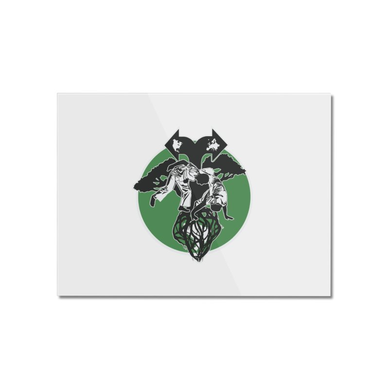 Capoeira Roots Home Mounted Acrylic Print by Afro Triangle's