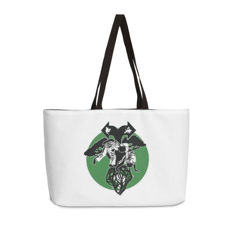 Capoeira Roots Accessories Weekender Bag Bag by Afro Triangle's