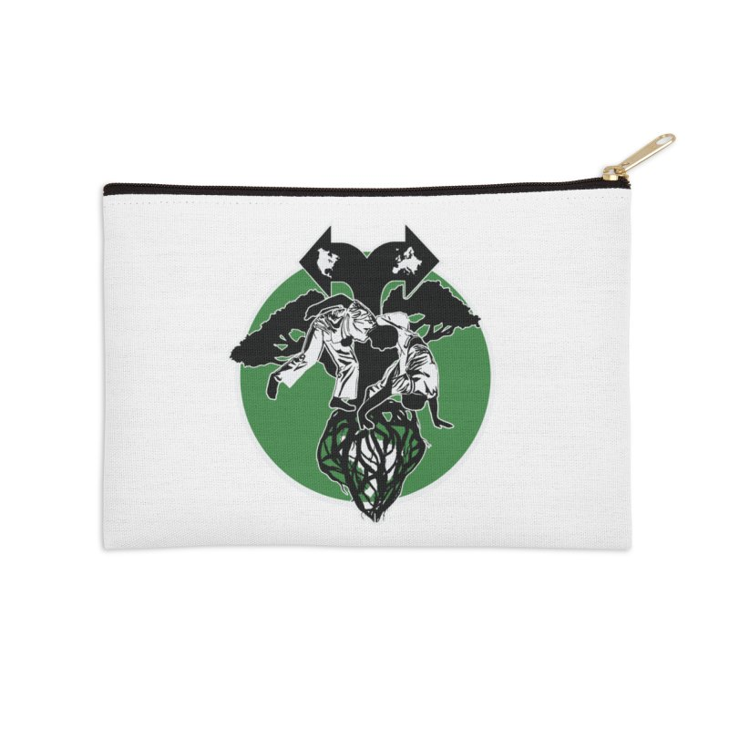 Capoeira Roots Accessories Zip Pouch by Afro Triangle's