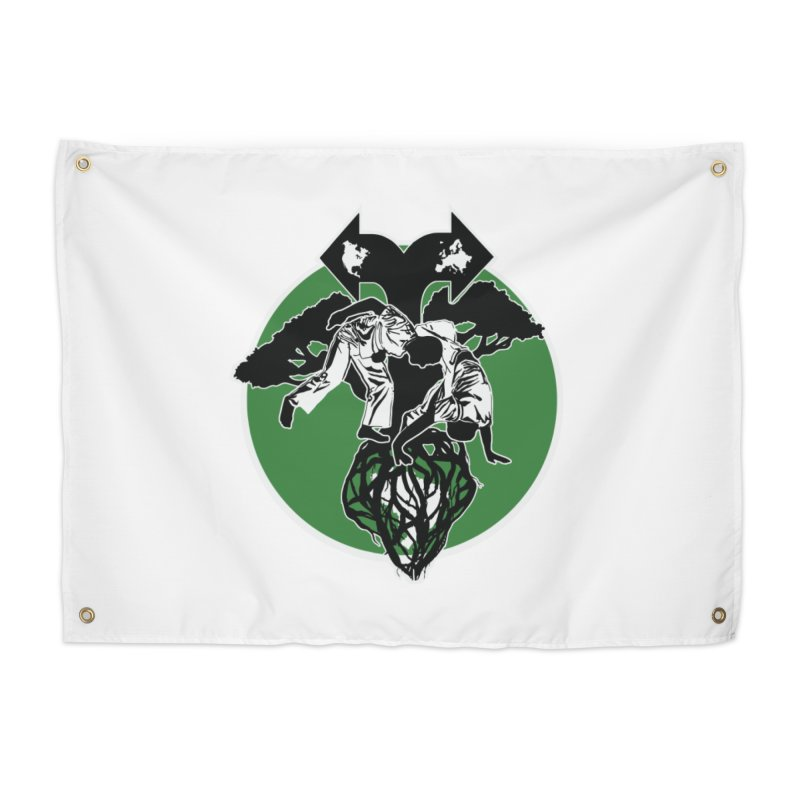 Capoeira Roots Home Tapestry by Afro Triangle's