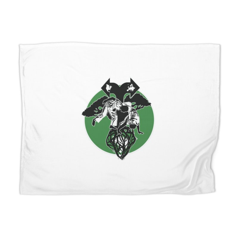 Capoeira Roots Home Blanket by Afro Triangle's