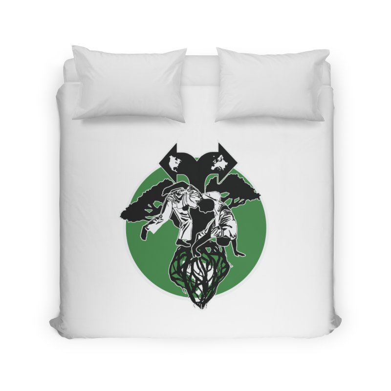 Capoeira Roots Home Duvet by Afro Triangle's