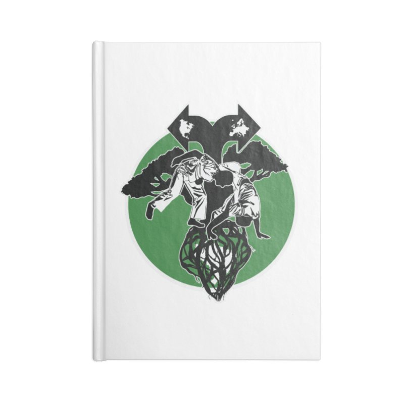 Capoeira Roots Accessories Lined Journal Notebook by Afro Triangle's