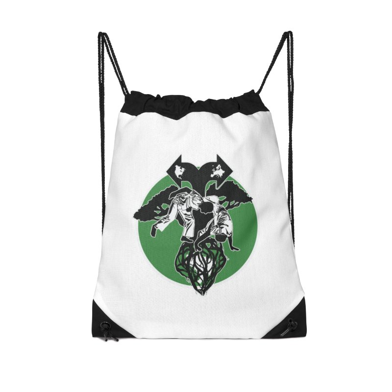 Capoeira Roots Accessories Drawstring Bag Bag by Afro Triangle's