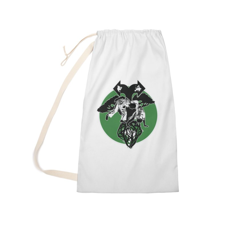 Capoeira Roots Accessories Laundry Bag Bag by Afro Triangle's