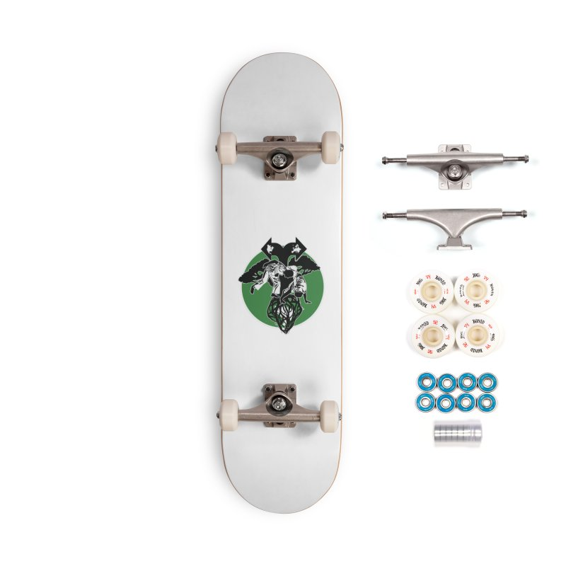 Capoeira Roots Accessories Complete - Premium Skateboard by Afro Triangle's